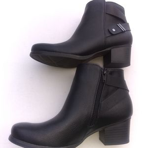 Natural Soul All Thru Comfort Calm Ankle Boots